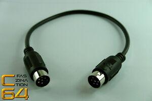 Faszination-C64-Serielles-Kabel-f-Commodore-C64-Peripherie-Kabel-kurz-25-cm