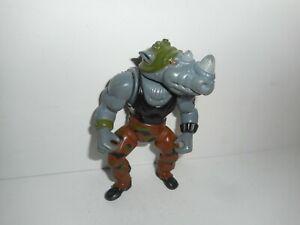 Vintage-1988-TMNT-Teenage-Mutant-Ninja-Turtles-Rocksteady-Action-Figure