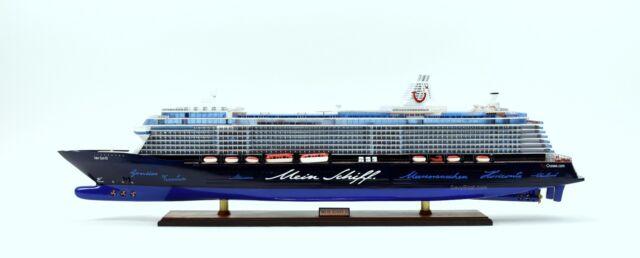 mein schiff 3 cruise ship handmade wooden passenger ship model 44 tui cruises ebay. Black Bedroom Furniture Sets. Home Design Ideas