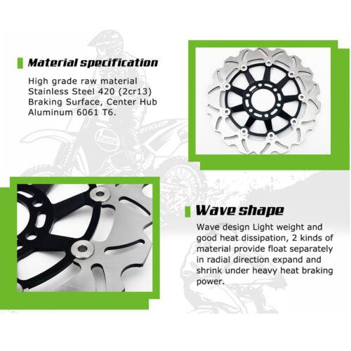 Suzuki SV 650 2003-2010 SV-S 650 2003-2012 Front Rear Brake Discs Disks Pads