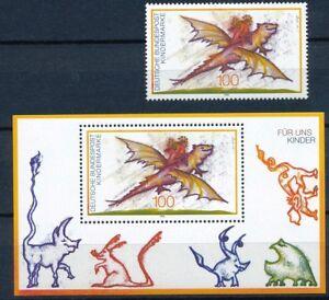 1754-Block-30-postfrisch-Kinder-Bund-1994