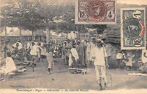 CPA-HAUT-SENEGAL-NIGER-SIKASSO-UN-COIN-DU-MARCHE