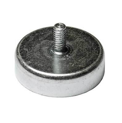 Hartferrit Magnet Flachgreifer Topfmagnet Gewindezapfen 25x7-M4-40N pot magnet