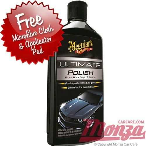 New Meguiars Ultimate Car Polish Plus Free Polishing