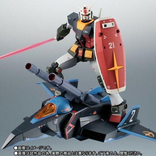 BANDAI ROBOT SPIRITS RX-78-2 GUNDAM & G-FIGHTER VER. A.N.I.M.E. REAL TYPE COLOR