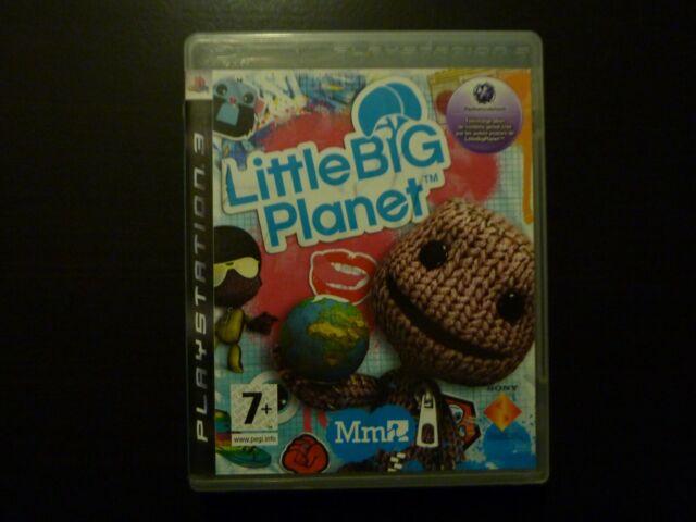 Jeu PS3 Little Big Planet Vers. Fr.