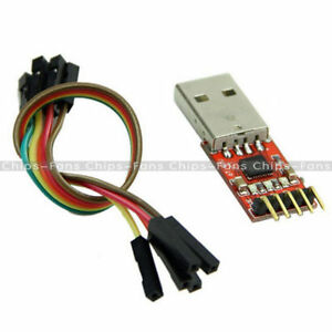 USB-2-0-to-TTL-UART-5PIN-Module-Serial-Converter-CP2102-STC-PRGMR-Free-cable-UK
