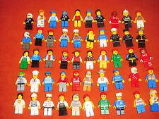 Lego Sammlung 10 Figuren City Town guter Zustand Paket siehe Bilder
