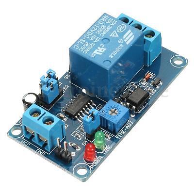 Power-ON Open Delay Timer Relay Switch Alarm Module DC 12V Better than NE555