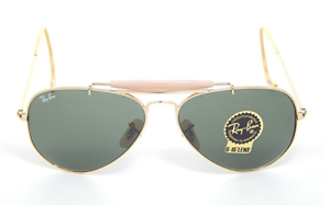 Ray-Ban-RB3030-Outdoorsman-L0126-Gold-Frame-Sunglasses