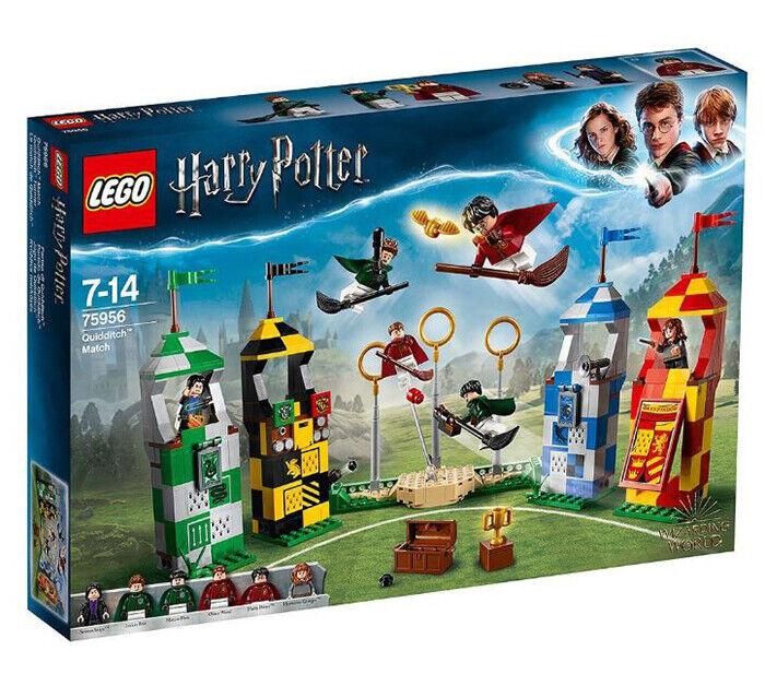 LEGO 75956 Harry potter Quidditch  Match costruzione Set  (nuovo Sealed)  più ordine