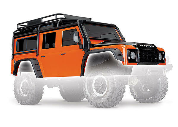 Joyeux Noël Surprise + + + TRAXXAS 8011A Carrosserie Defender ORANGE TRX/BODY Defender TRX ORANGE 4f2f52