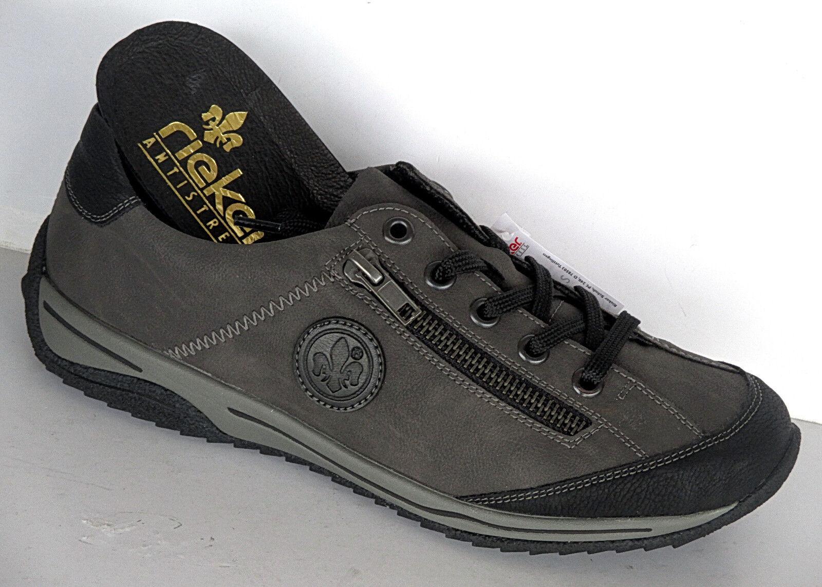 Damen Rieker Komfort Sneakers, herausnehmbares Fußbett, Fußbett, Fußbett, Art. L5224-00 ++NEU++ 1c03ef