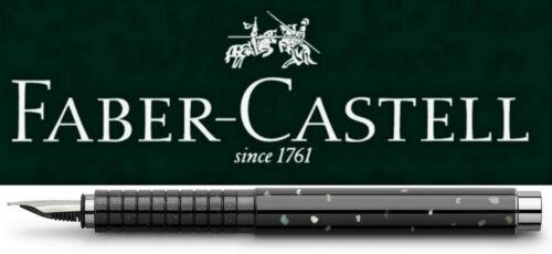 Faber-Castell BASIC Black Perlmutt Füllfederhalter Feder M B *!bestprice!*