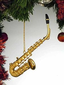 """5"""" Alto Saxophone Ornament with Red Gift Box (OGSA10) Miniature Instrument"""