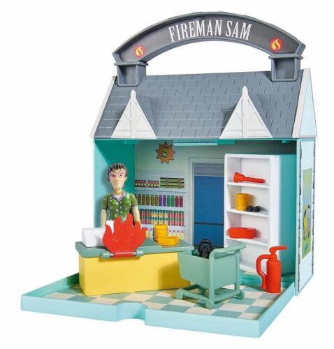 Simba 109251031 Pompiere Sam/'S Dily Supermercato con 2 Figure