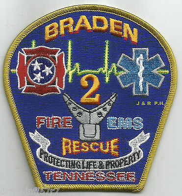 Oakland Fire Rescue Department Station 4 Patch Tennessee TN SKUFC3