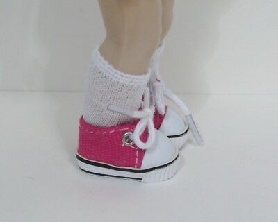 """Debs ORANGE Canvas Tennis Deck Doll Shoes For 18/"""" American Girl Dolls"""