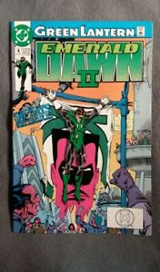 Green-Lantern-Emerald-Dawn-II-4-1991-VF-NM-DC-Comics-4-Flat-Rate-Shipping