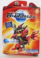 B-daman Samurai Phoenix 2005 American Battle Blasters In Box Hasbro