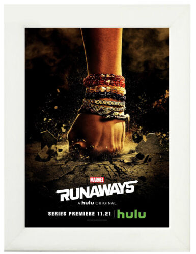 Marvel Runaways TV Show Poster or Canvas Art Print Framed Option A3 A4 Sizes
