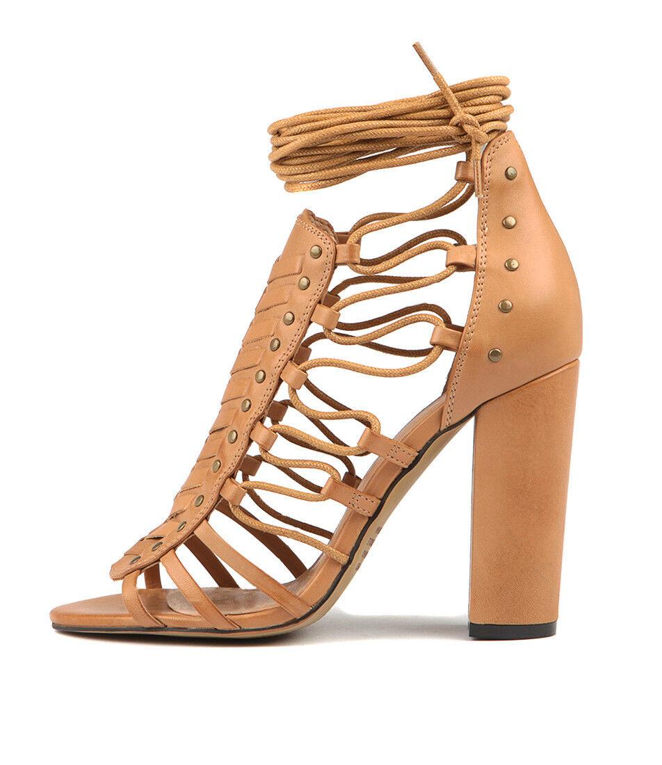 New Womens Mollini Morris Tan Womens New Shoes Dress Sandals Heeled 277fe1
