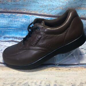 PROPET-039-Vista-Walker-039-M3910-Brown-Leather-Walking-Shoes-Men-039-s-Size-US-9-M