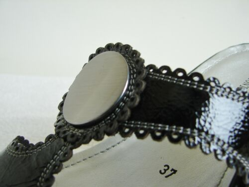 4 compens 5 mi 01Shellan talon D5050 37 cuir en noir taille Dorndorf Eu xYqBR7wA