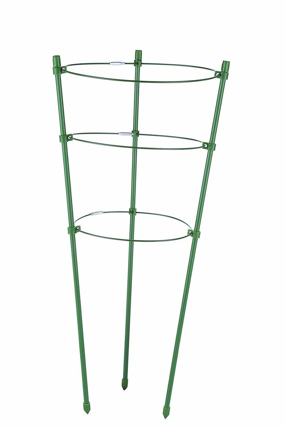 Tomato and Plant Support Cage, Stakes, Trellis, Gardening Climbing Growing Cages 6