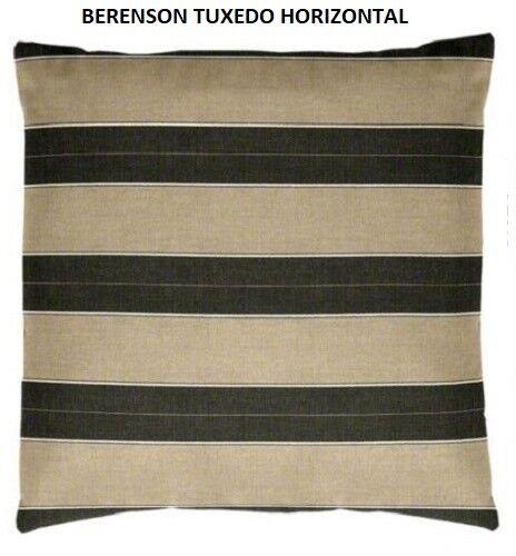 Sunbrella BERENSON TUXEDO indoor//outdoor Pillow