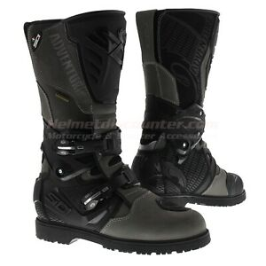 Sidi-Adventure-2-Gore-tex-Goretex-Motorcycle-Boots-Grey-Fast-039-N-Free-Shipping