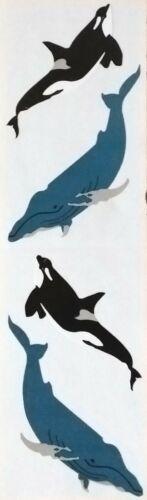 Mrs Grossman  WHALES 1988 Stickers  VINTAGE