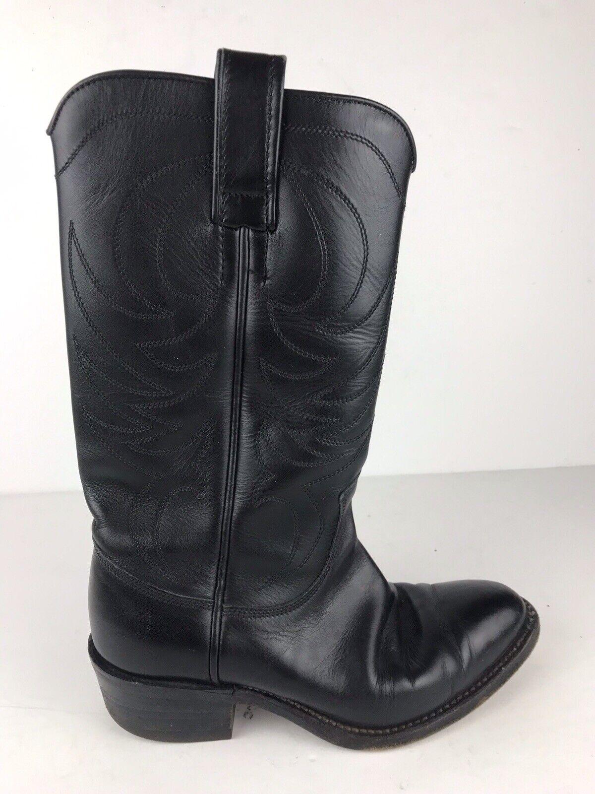 negozio di sconto RM Williams Donna  Sz 5 G nero Leather Leather Leather Tall Cowboy Western stivali  ordina ora i prezzi più bassi