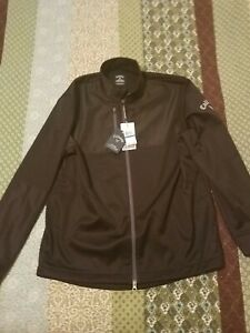 Callaway Golf Weather Series Full Multi Zip Caviar Front Phone Pocket Jacket NEW