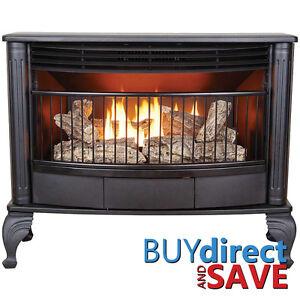 Pro Vent Free 25K BTU Free Standing Gas Stove Fireplace