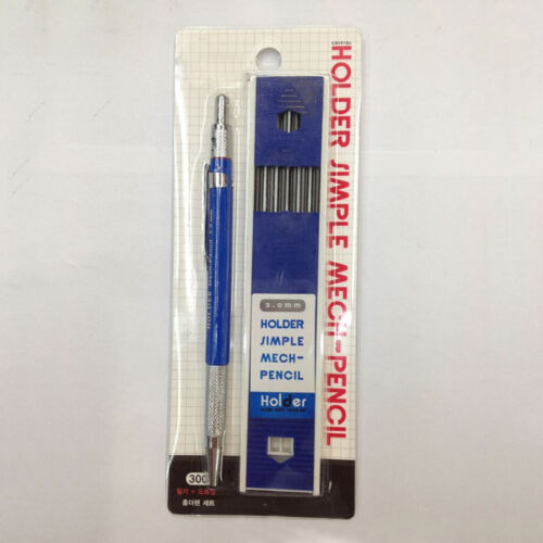 12X 2mm Lead Holder Automatic Mechanical Draughting Drafting Pencil