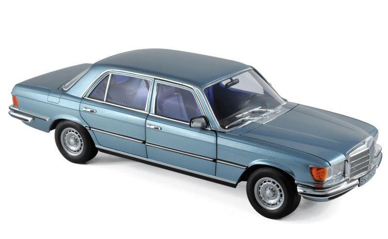 Mercedes 450 SEL 6.9 W116 (1976) azulgris metallic 1 18 Norev 183457