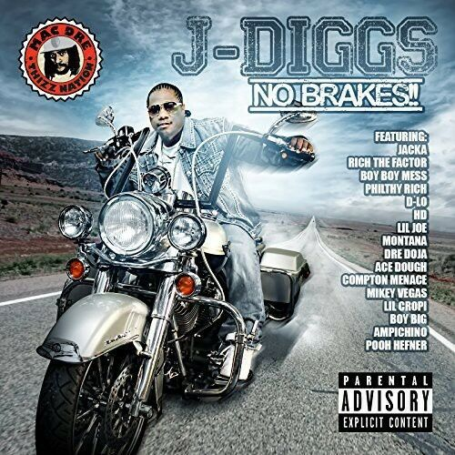 J-Diggs - No Brakes [New CD] Explicit
