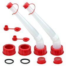 Cm Concepts Universal Replacement Gas Fuel Can Spout Nozzle Vent Kit 2 Kits