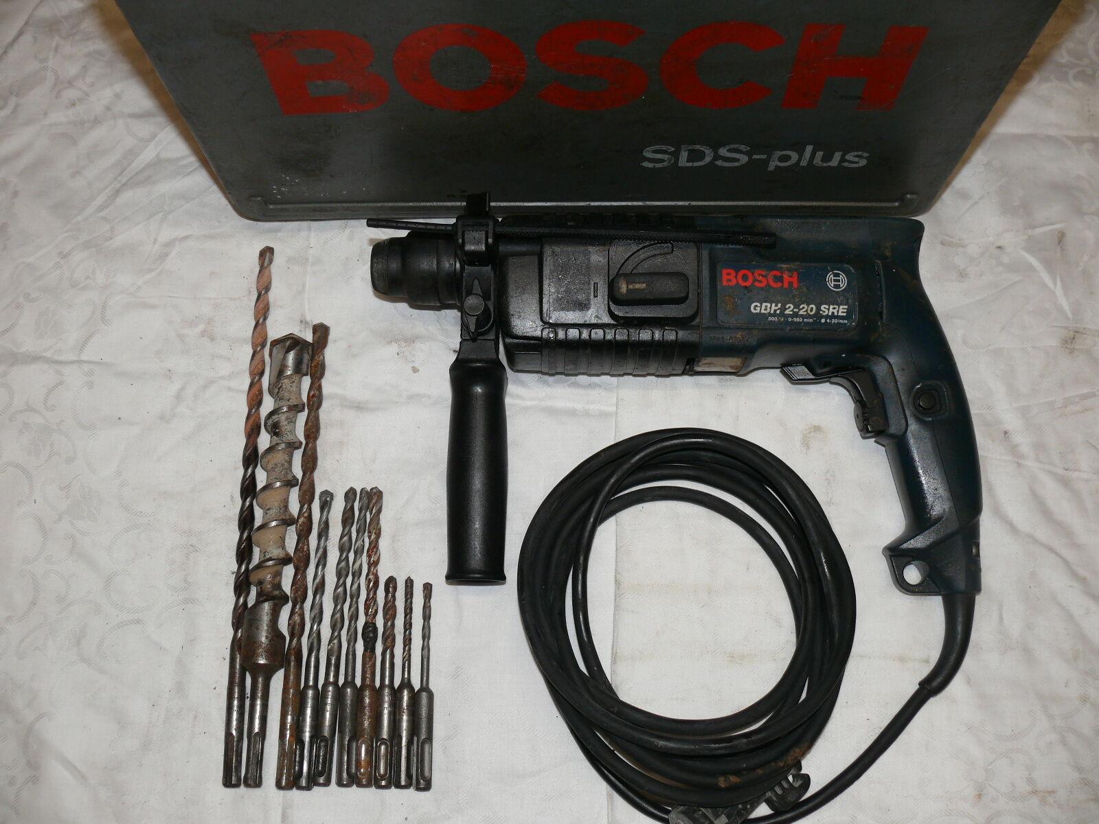Bosch GBH 2-20 SRE BOHRHAMMER SDS-PLUS WIE UBH 2 20 RLE
