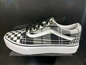 Details about Vans Old Skool Glitter Checkerboard Womens Skate Shoes Size 7 US Women