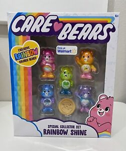 Care Bears Limited Edition Rainbow Shine Special Collector Set Care Coin Included 2020