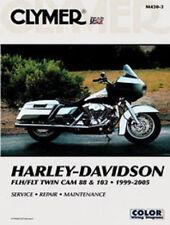 1999-2005 Harley FLH FLT Twin Cam 88 & 103 Clymer Service, Repair Manual M4304