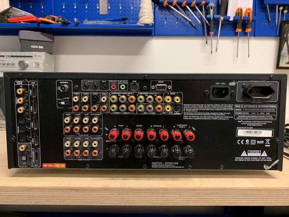 NAD T758 Surround Sound Receiver