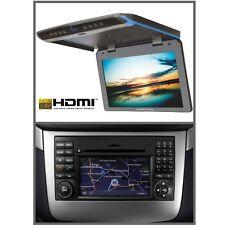 Full-HD Deckenmonitor NTG 2.5 Anschluss DVD & USB Ampire 17 Zoll Mercedes-Benz