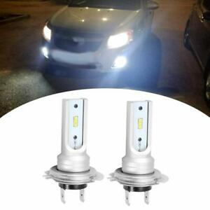 H7-LED-Headlights-Bulbs-Kit-High-Low-Beam-72W-4000LM-6000K-White-Plug-And-Play