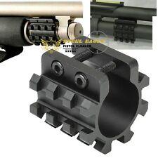 "Gauge 1"" Shotgun Mag Tube Tri Rail Picatinny Mount 3 Rails 12 GA"