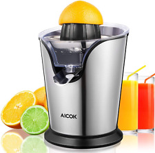 VonShef 13296 100W Stainless Steel Electric Citrus Juicer