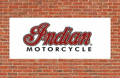 Indian Motorcycles Flag Banner 240X60cm Garage Roadster Classic Wall Decor Flag