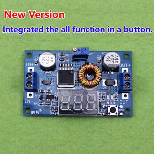 5A  3.3v 5v 12v Adjustable LED Display DC Buck Step Down Voltage Regulator Modul